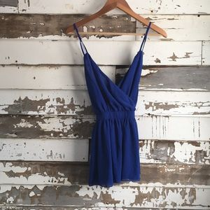 Tops - Cobalt blue top